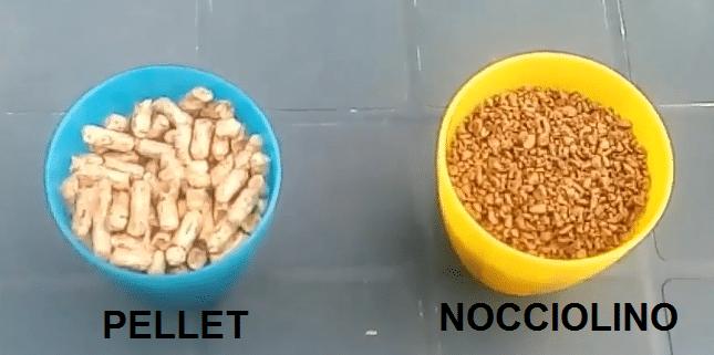 nocciolino e pellet