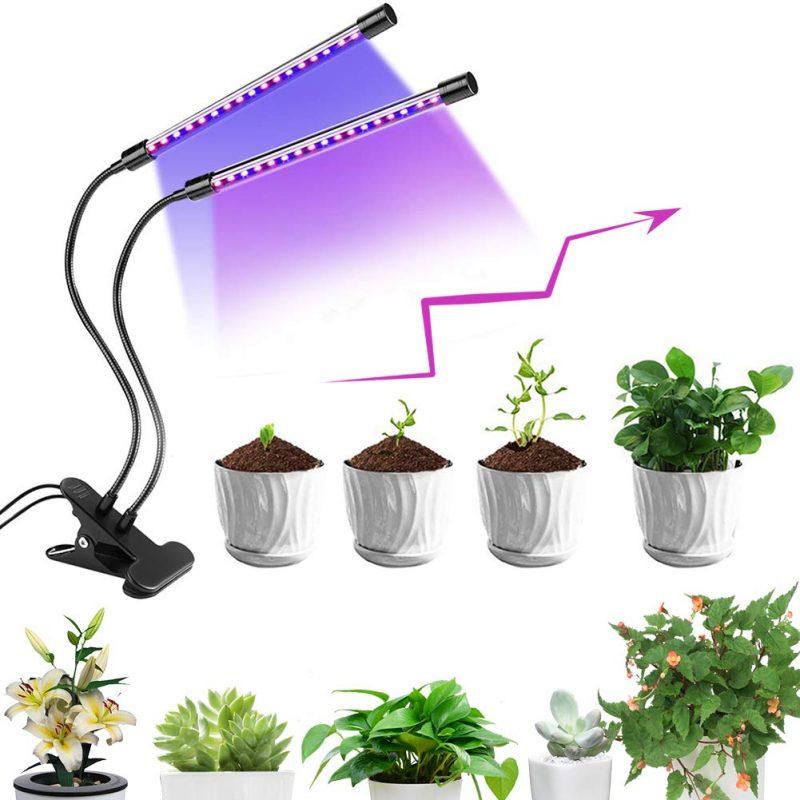 lampada led per piante