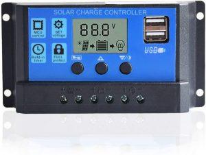 Come realizzare un sistema di irrigazione ad energia solare-controller di carica solare