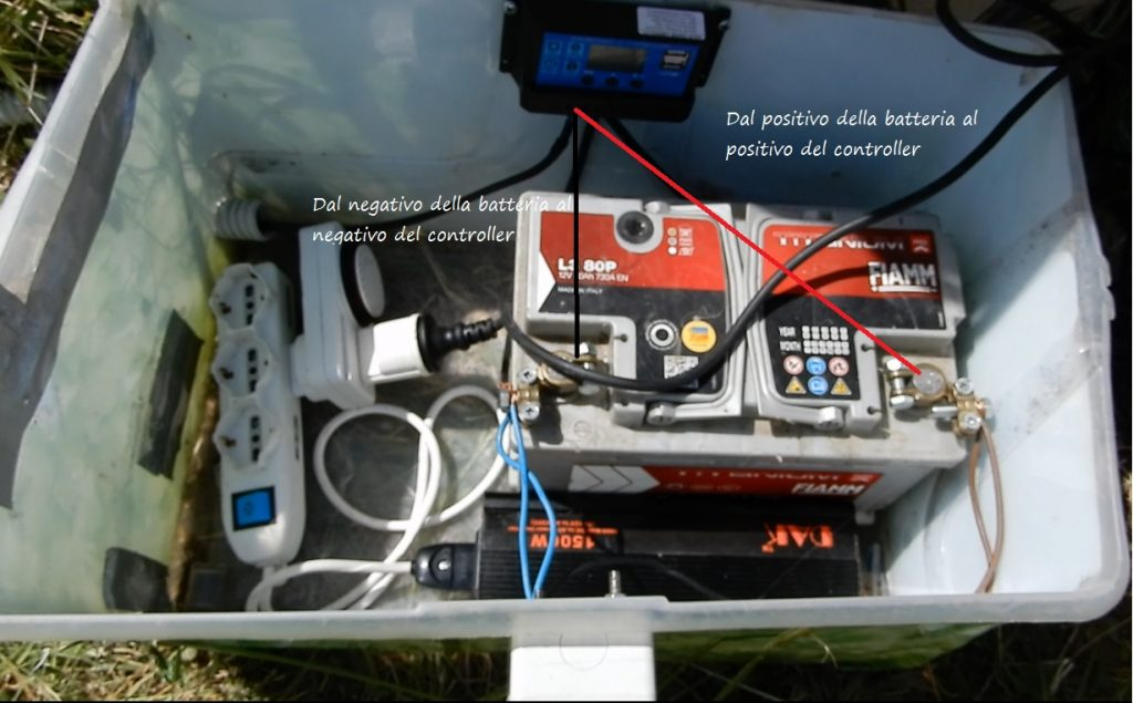 Come realizzare un sistema di irrigazione ad energia solare-circuito solare regolatore di carica 2